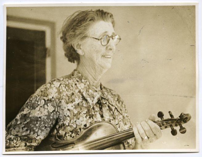 Mrs. Ben Scott, fiddler